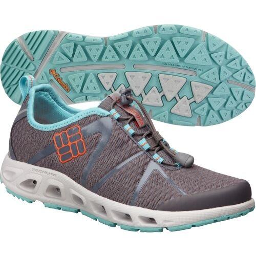NEU Columbia Damens BL2560 Powerdrain Cool Gray Sneaker sz 5 M