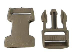 4-Hebillas-completas-liberacion-20-mm-Tan-ITW-Nexus-SR20-Buckle-Release-tactical