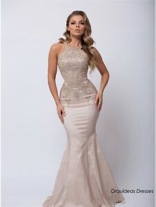 elegant shoes hot-selling genuine high quality guarantee Details about Long Beautiful Champagne Prom/Formal Dress