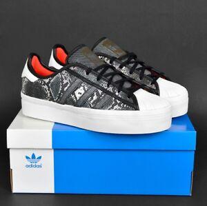 ADIDAS-SUPERSTAR-90-039-s-Leder-Schuhe-Damen-Shoes-schwarz-weiss-UK-5-5-38-2-3-NEU