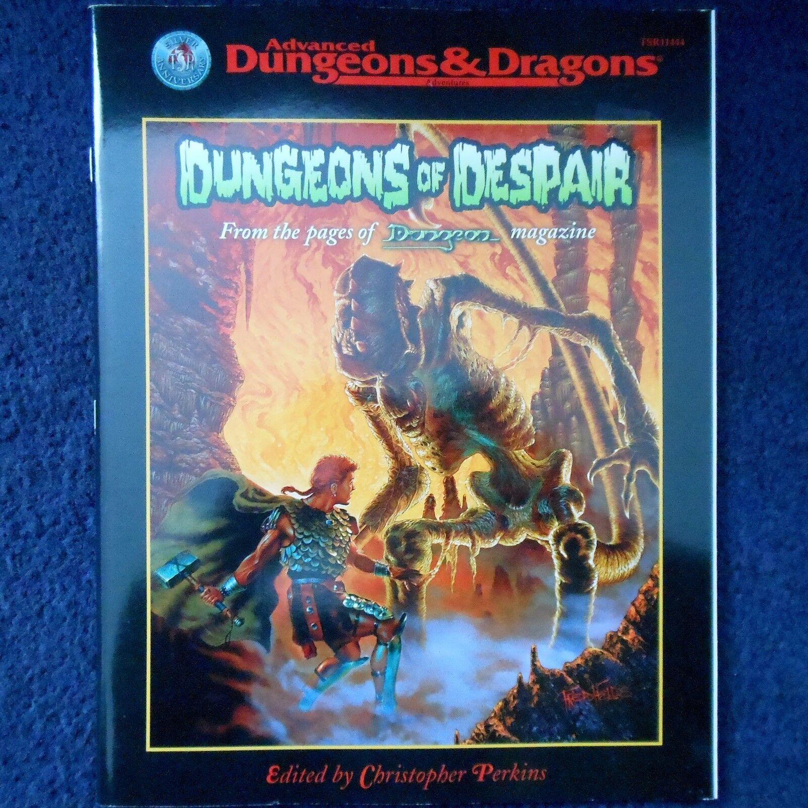 Dungeons of Despair Advanced Dungeons & Dragons Adventure Module D&D TSR11444