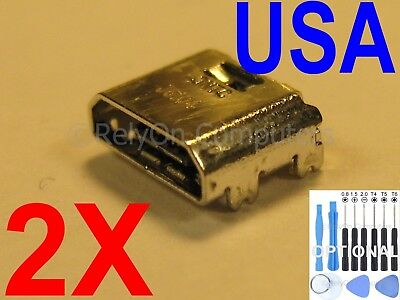 "3X Samsung Galaxy Tab E 8.0/"" SM T375 T377 T378 Charging Port Charger Connector"