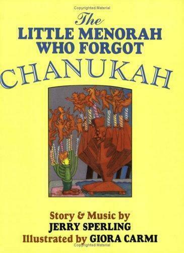 The Little Menorah Who Forgot Chanukah Jerry Sperling Paperback Used - Very Goo