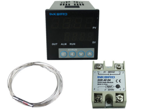 INKBIRD ITC-106VL Digital Pid Temperature Controller heater Fahrenheit C /& F 12V