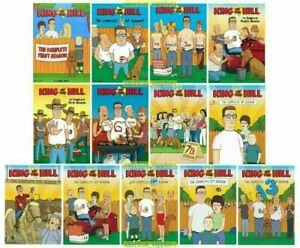 King-of-the-Hill-The-Complete-Series-1-13-DVD-37-Disc-Set-Season-NEW-Sealed