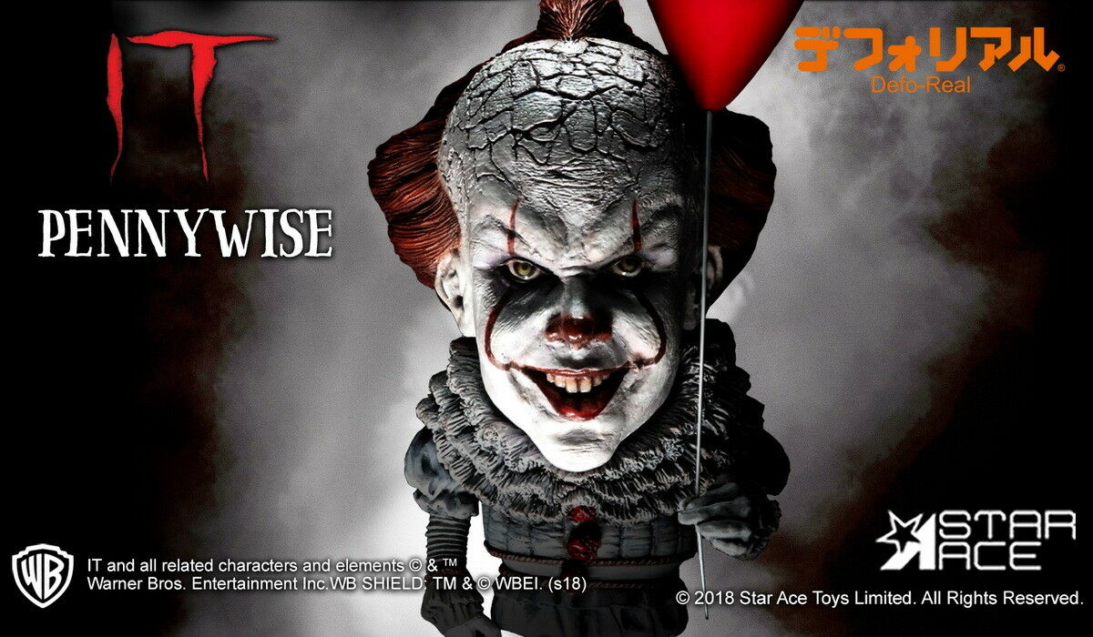 15CM STAR ACE TOYS SA6004 Pennywise Defo- Real Series Statue Statue Statue Figure Collectio 2c2e78
