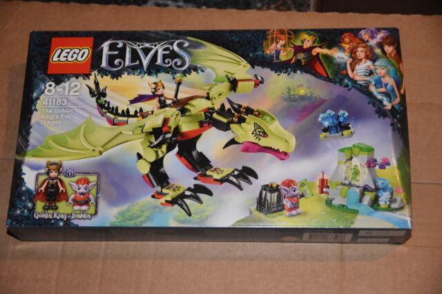 LEGO 41183 Elves The Goblin Kings Evil Dragon Set Brand New /& Sealed.
