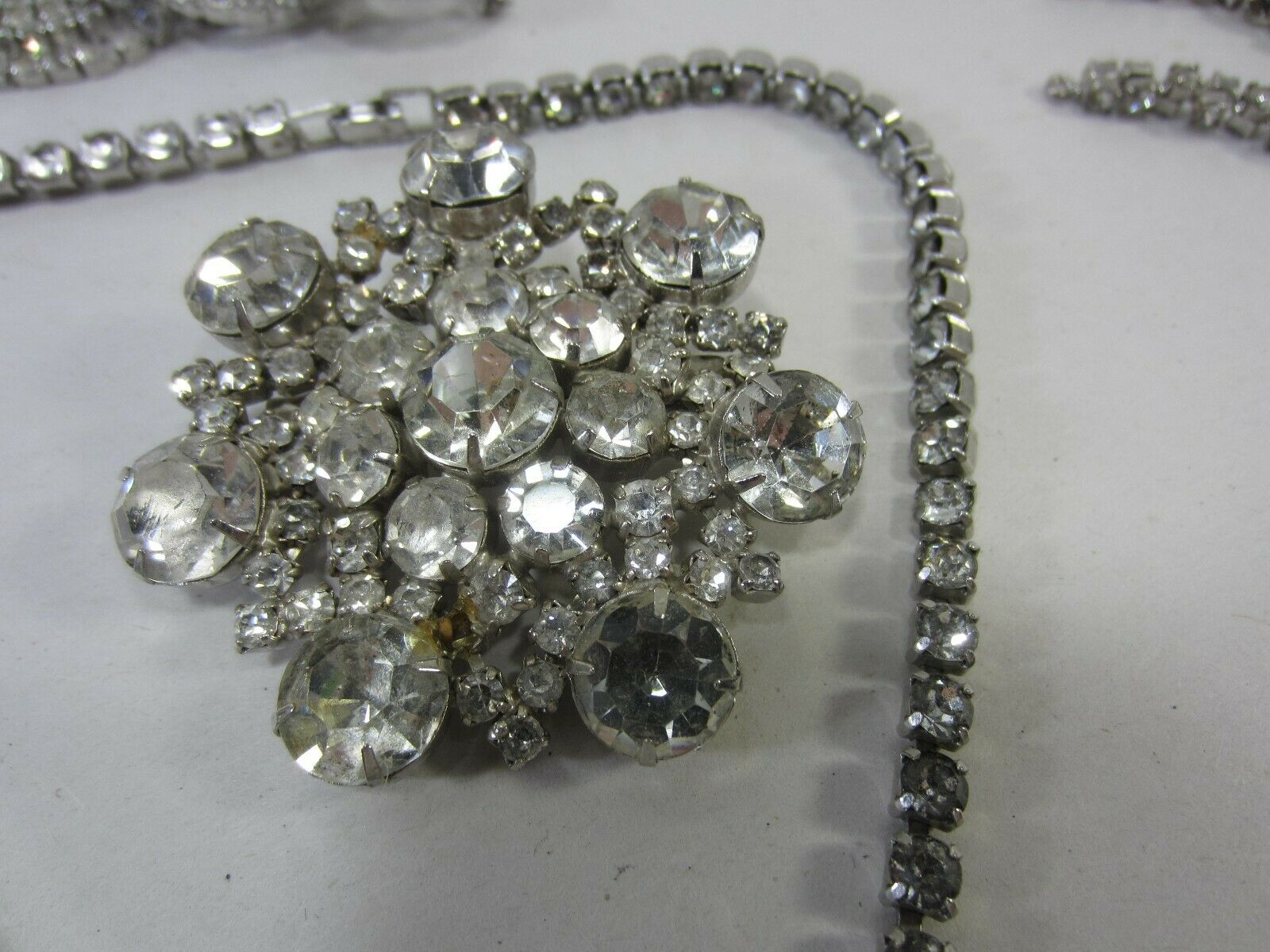 Vintage Lot of Rhinestones- Dress Embellishment, … - image 4