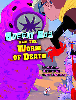 1 of 1 - David Orme, Boffin Boy and the Worm of Death, Very Good Book