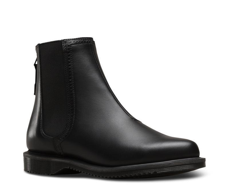 Dr Martens slip on botas zillow Black 23754001 original Doc