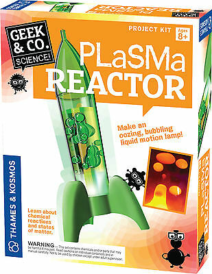 Plasma Reactor Science Project Kit Geek & Co. Oozing bubbling liquid motion lamp