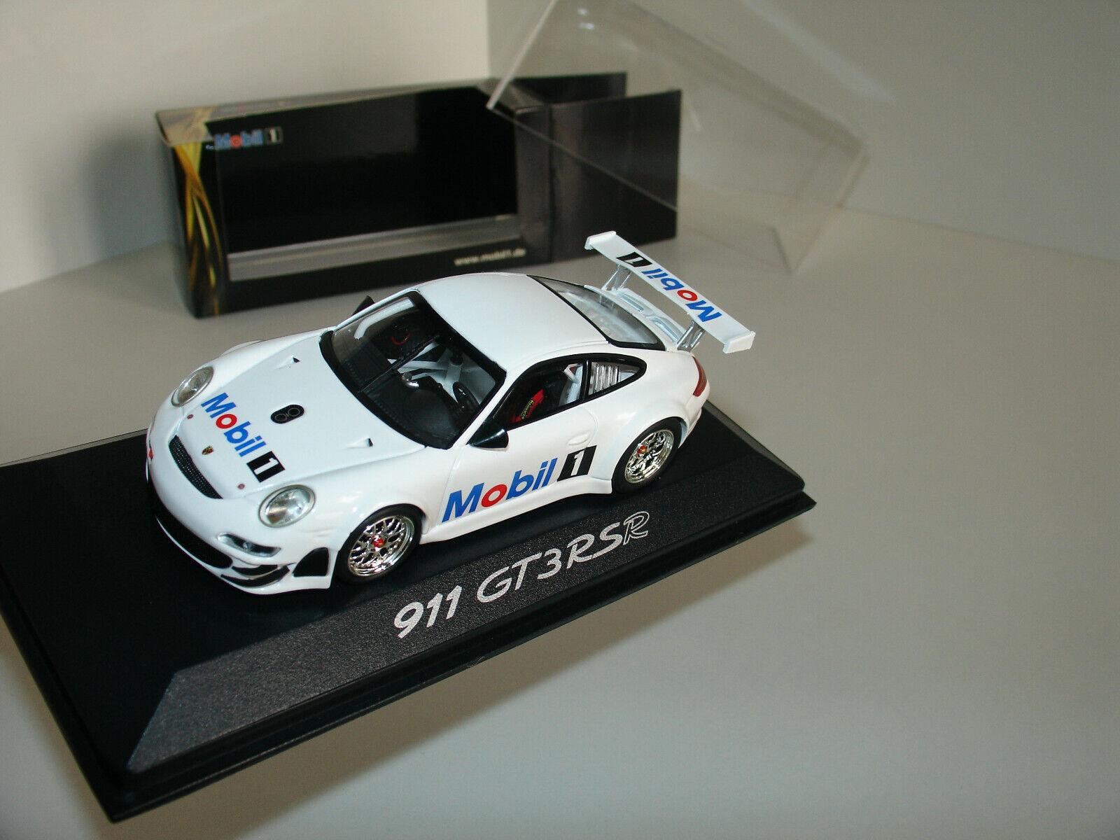 1 43 Porsche 911 (997) GT3 RSR  Mobil 1  por Minichamps