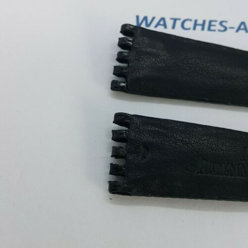 Audemars Piguet AP Black Lizard Leather Strap 20/16 NOS GENUINE NEW ORIGINAL