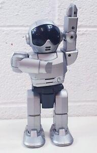 Idem-per-la-Danza-Robot-talentoy-giocattolo-interattivo-ARGENTO-DI-LAVORO-N-76540-Retro
