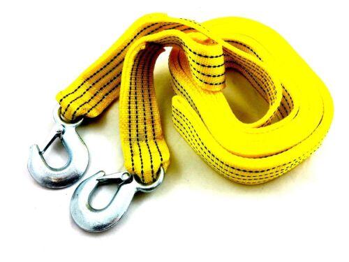 Cable de remolque 5000kg 5t con 2 ganchos schleppseil copiloto cuerda doble