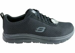 NEW-SKECHERS-MENS-WORK-RELAXED-FIT-FLEX-ADVANTAGE-BENDON-SR-LACE-UP-SHOES
