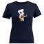 Juniors-Girl-Women-Tee-T-Shirt-Animal-Crossing-K-K-Slider-Guitar-Musician-Dog thumbnail 5