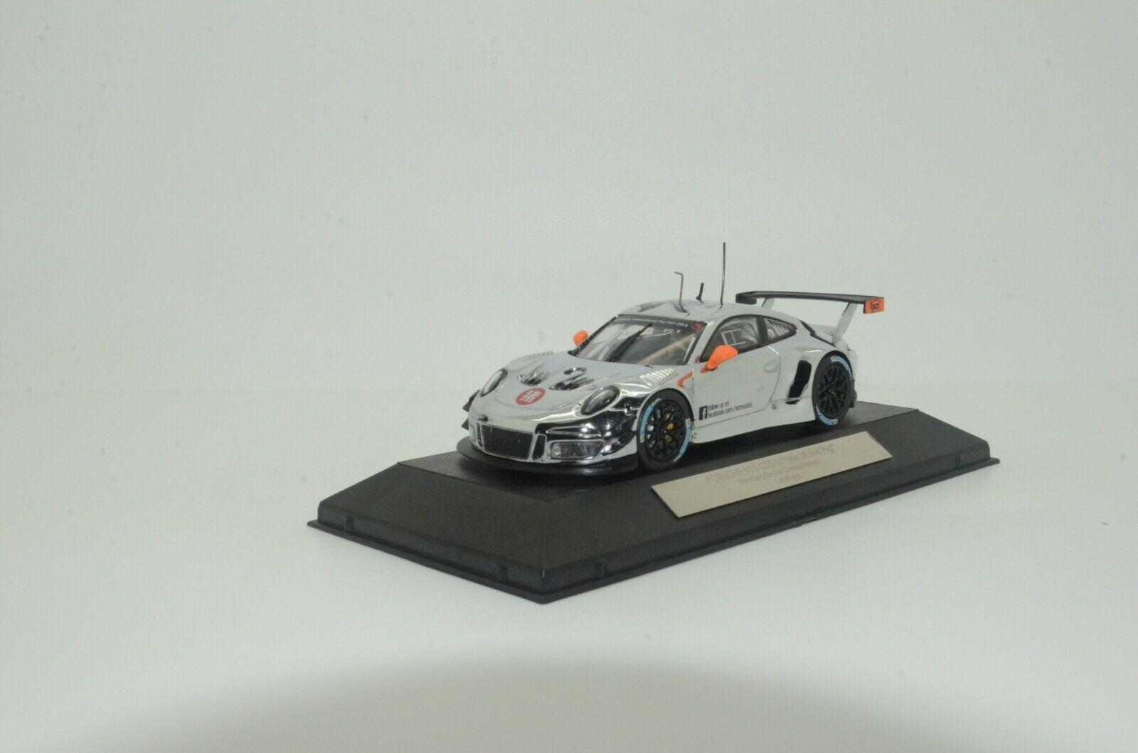 RARE   Porsche 911 GT3 R Nurenberg Toy Fair Show 2019 IXO 1 43 1 of 99
