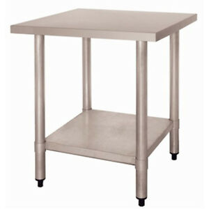 Tremendous Details About Commercial Kitchen Stainless Steel Centre Prep Bench Table 900W X 600D X 850H Gmtry Best Dining Table And Chair Ideas Images Gmtryco