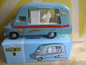 DINKY-TRIANG-TONIBELL-ICE-CREAM-VAN-No-265-WITH-REPRODUCTION-BOX