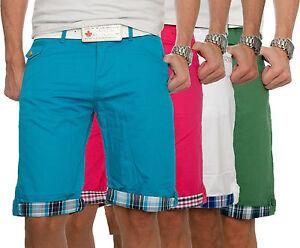 Herren-Chino-Shorts-Kurze-Hose-Herrenshorts-Bermudas-Sommer-Maennershorts-NEU