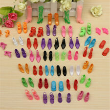 40Pairs/Lot Doll Shoes High Heel Sandals Doll Fashion  new ?