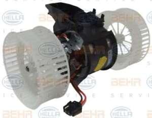 bmw 5 6 series e60 e61 e63 64 heater blower motor hella oe 64116933910 ebay. Black Bedroom Furniture Sets. Home Design Ideas