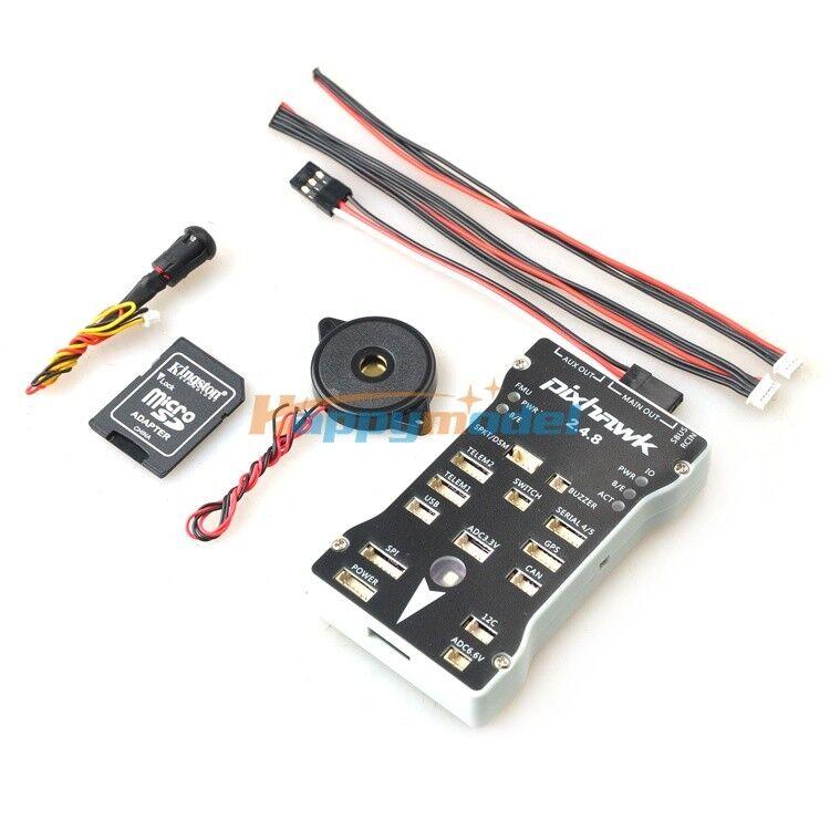 Pixhawk PX4 Autopilot fc PIX 2.4.8 Flight Controller 32 Bit ARM PX4FMU PX4IO