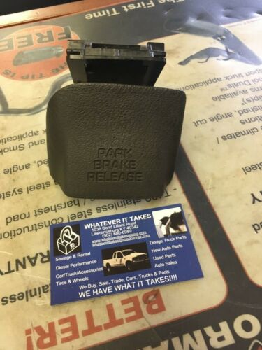 98 99 01 02 dodge ram gray Parking emergency Brake Handle 1500 2500 3500 agate