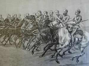 Royal-Canadian-Mounted-Police-Mounties-Cavalry-Charge-Lance-1887-Remington-print