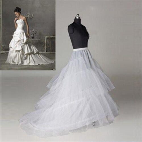 Regular and Plus size 2 hoops Wedding Gown Train Petticoat Crinoline