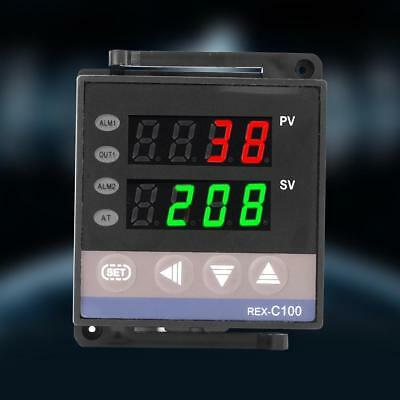 100-240V Digitale PID Temperatura Controllo Termostato 14Bit REX-C100