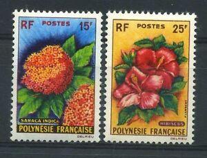 POLYNESIE-N-15-16-034-FLEURS-034-NEUFS-XX-TTB