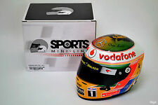 1/2 Lewis Hamilton McLaren 2011 Indian Grand Prix Helmet F1 Bob Marley FLAWED