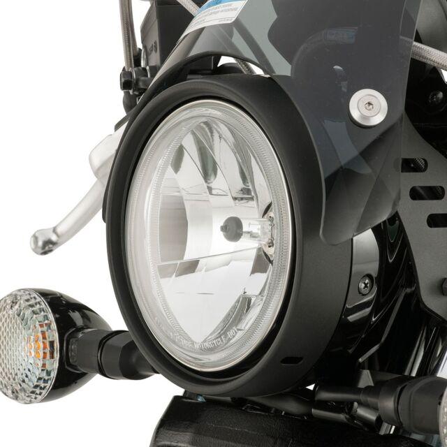 Yamaha Headlight Bezel in Black - Fits Bolt's, Stryker's, & V-Star 950'S - New