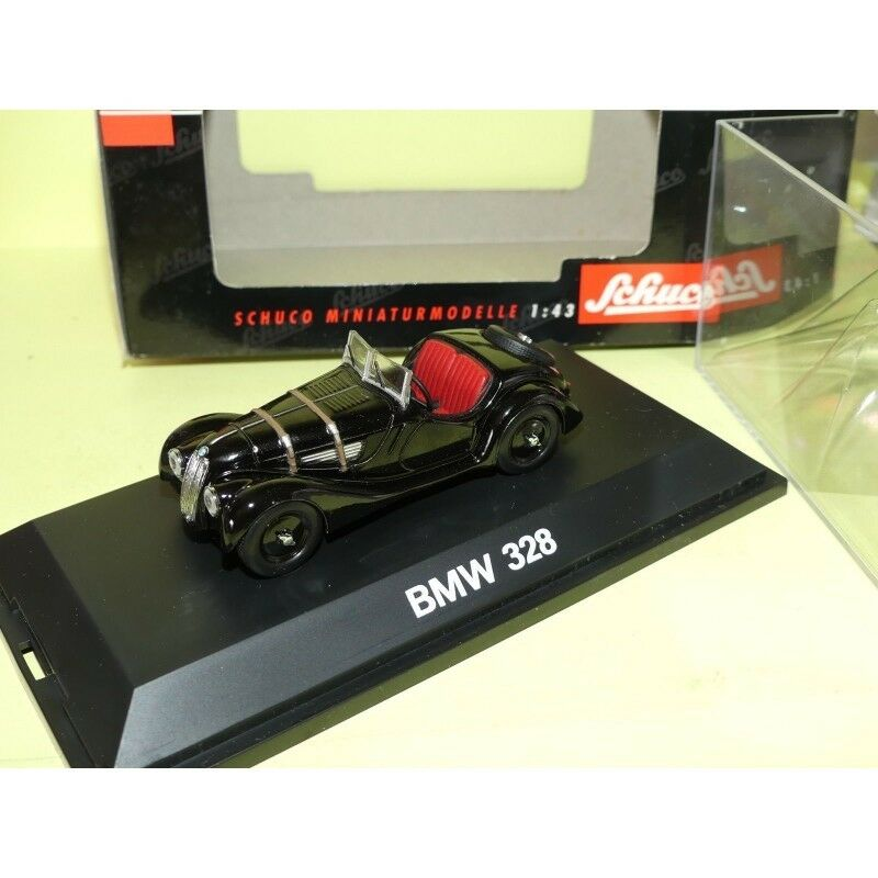 BMW 328 black SCHUCO 1 43