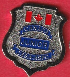 Canada Border Services- Junior Officer Badge Pin