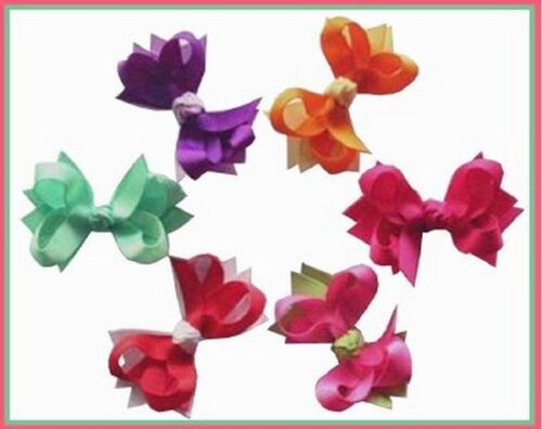 """300 BLESSING Good Girl Custom 2/""""//2.5/"""" Boutique Hair Bow Clip 11 Styles"""