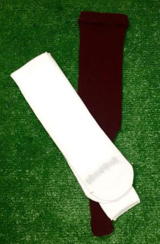 Baseball Stirrups Socks Solid Colors with White Sanitary Sock