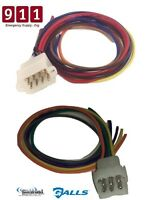 Svp Lcs 770 Galls St280 9 & 12 Pin Wiring Cable Kit Rear Accessory Connector Kit
