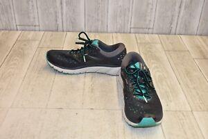 Brooks-Glycerin-16-Running-Shoe-Women-039-s-Size-9-5B-Ebony-Green-Black
