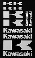 Kawasaki 11 Piece Universal Sticker/decal Set 16 Colors Motocross Ninja Atv Bike