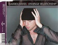 DARREN HAYES Strange Relationship OZ CD Single SAVAGE GARDEN