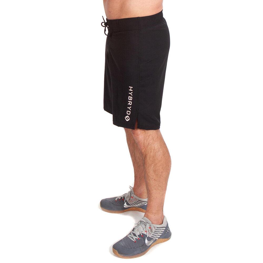 Hybryd Fit Herren Rebellierend X Schwarz Shorts für Crossfit Crossfit Crossfit Trainieren | Wir haben von unseren Kunden Lob erhalten.  a2b42d