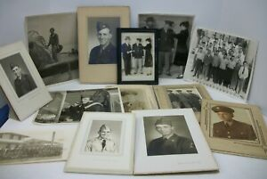 13-Vintage-Military-Real-Photographs-Estate-Lot