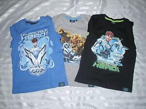 Garcons-Max-Steel-T-shirt-a-manches-longues-top-Bnwt-bleu-noir-gris-6-8-10-12-118