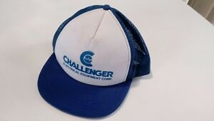 Vintage 1970's-80's Challenger Electrical Equipment Corp  Snap Back
