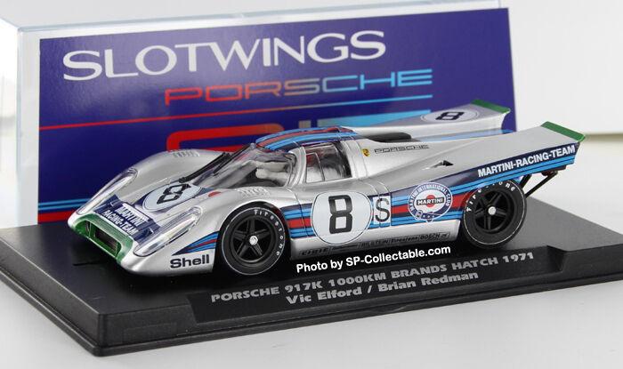SLOTWINGS Porsche 917K 1000km Marken Luke 1971 REF. W005-03 W005-03 W005-03 Neu Neu 1 32 74a383