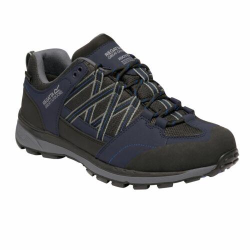 Regatta Men/'s Samaris II Waterproof Walking Shoes  Blue