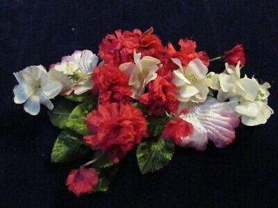 Vintage Millinery Blume Sammlung 1-1 1/2 Pink Ecru Japan H2787